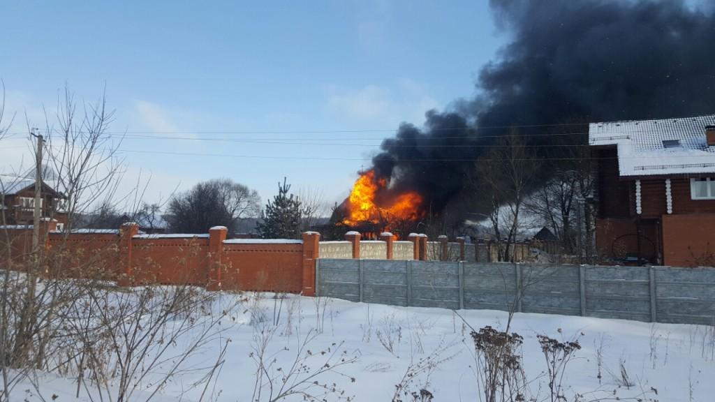 Пожар в общине