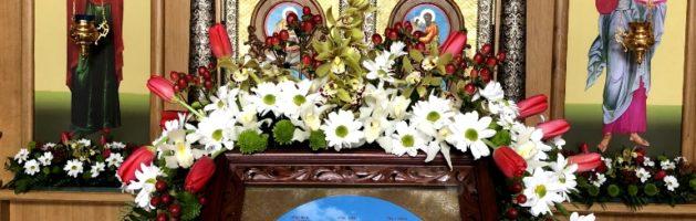Архиерейское Богослужение на престольный праздник. Фото
